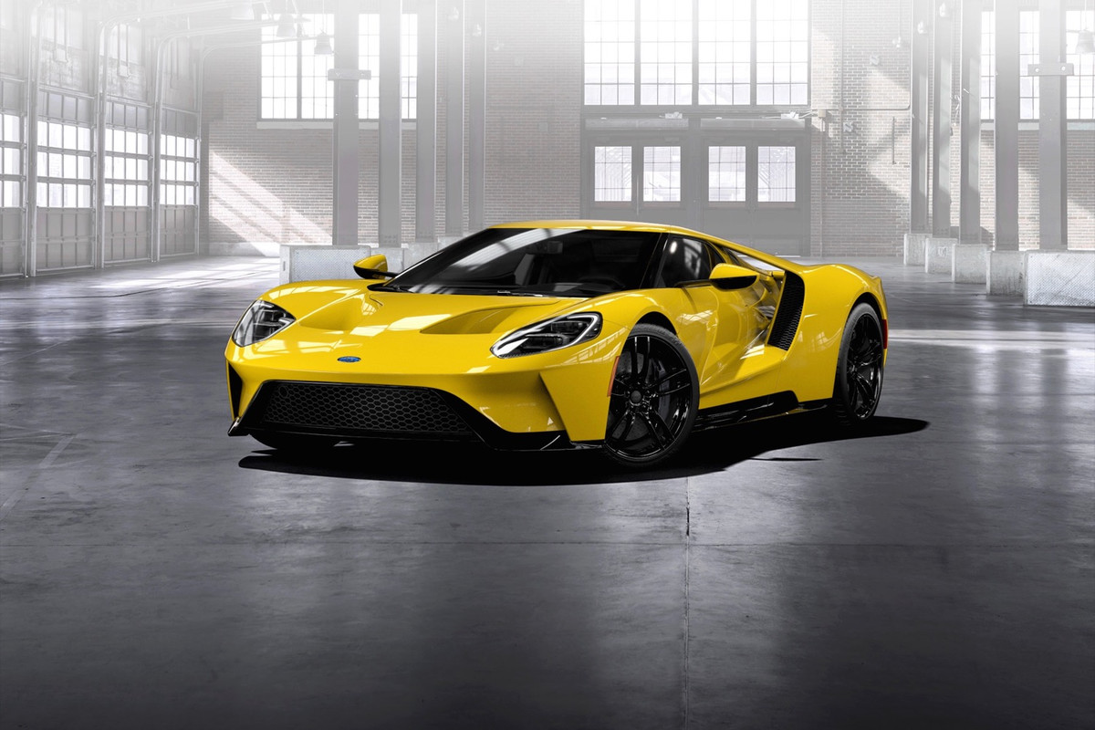 Ford GT II 2016 - now Coupe #6