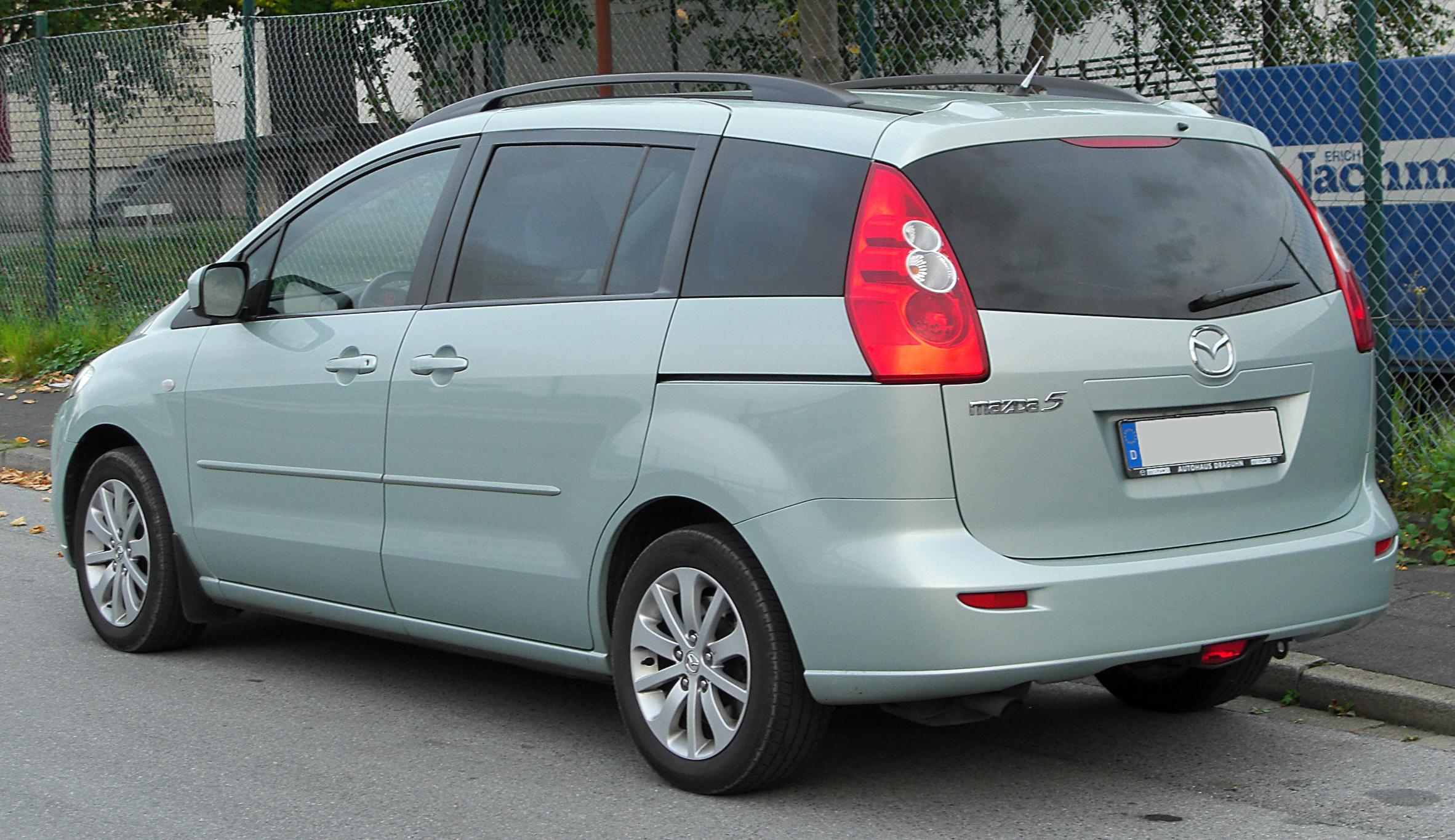Mazda Premacy III (CW) 2010 - now Compact MPV #5