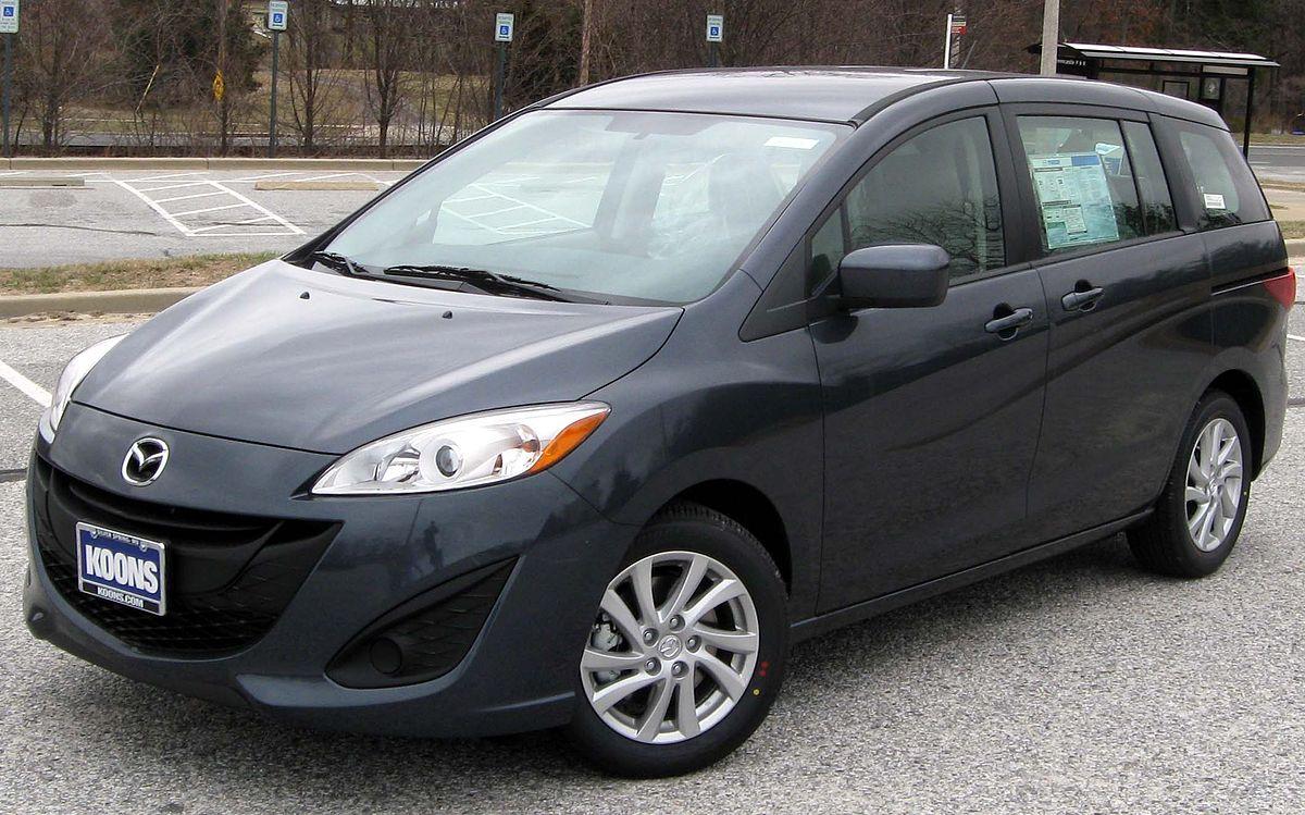 Mazda Premacy III (CW) 2010 - now Compact MPV #7