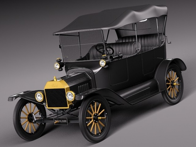 Ford Model T 1908 - 1927 Cabriolet #3