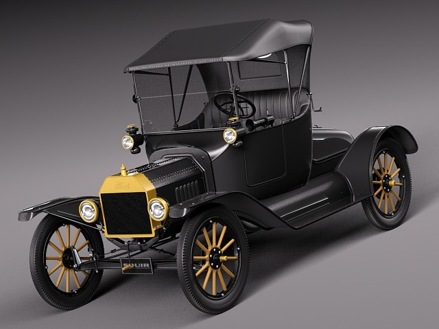 Ford Model T 1908 - 1927 Cabriolet #4