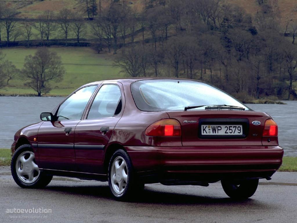 Ford Mondeo I 1993 - 1996 Liftback #5