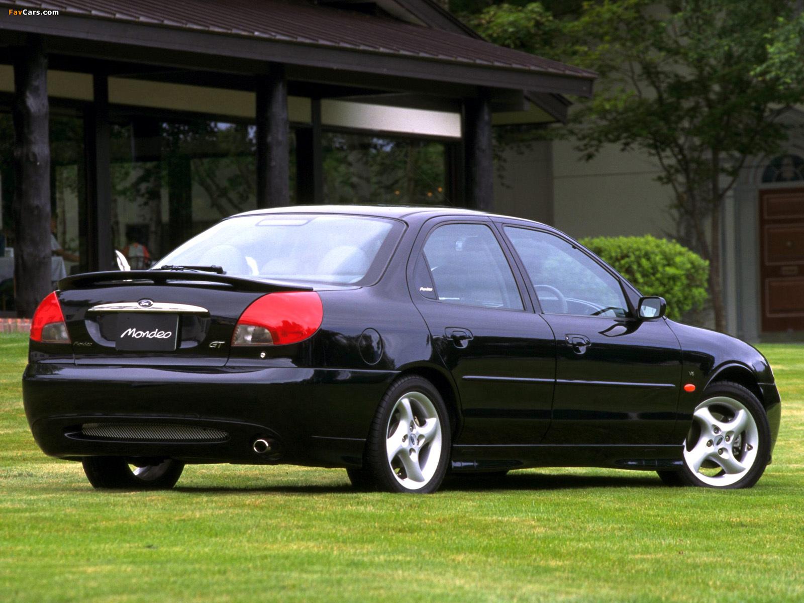 Ford Mondeo II 1996 - 2000 Sedan #3