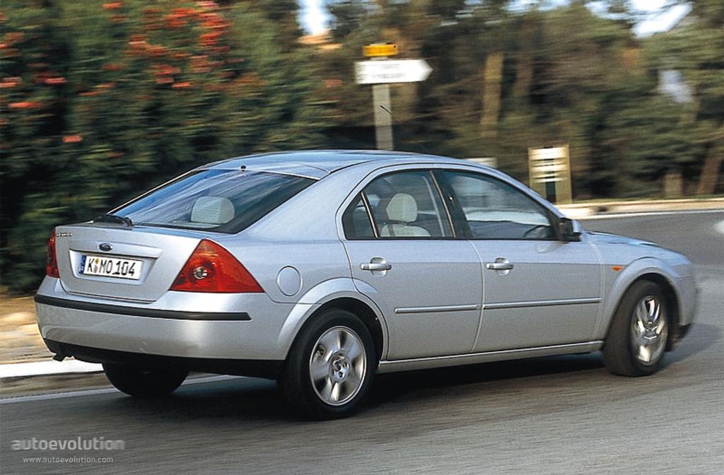 Ford Mondeo III 2000 - 2003 Liftback #8