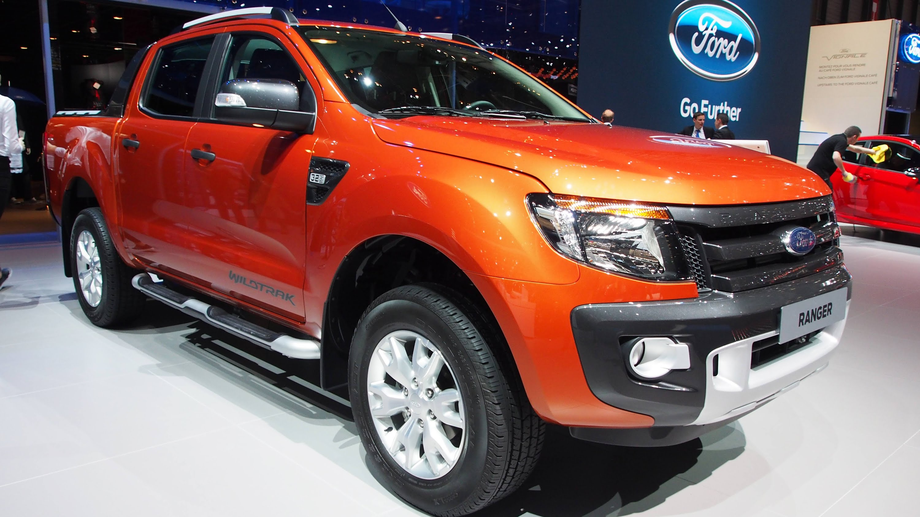 Ford Ranger IV 2015 - now Pickup #5