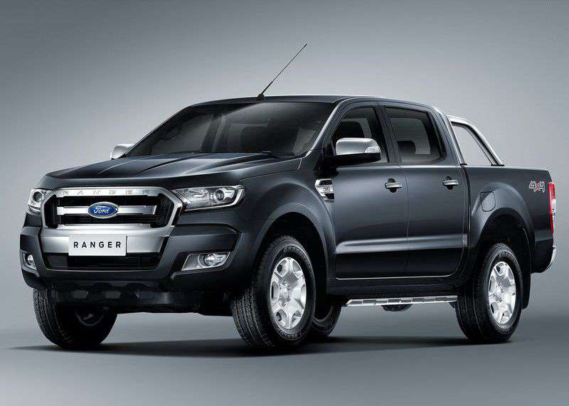 Ford Ranger IV 2015 - now Pickup #8