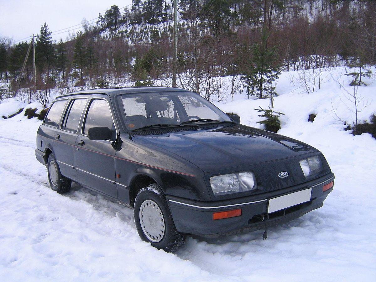 Ford Sierra I Restyling 1987 - 1993 Hatchback 3 door #5