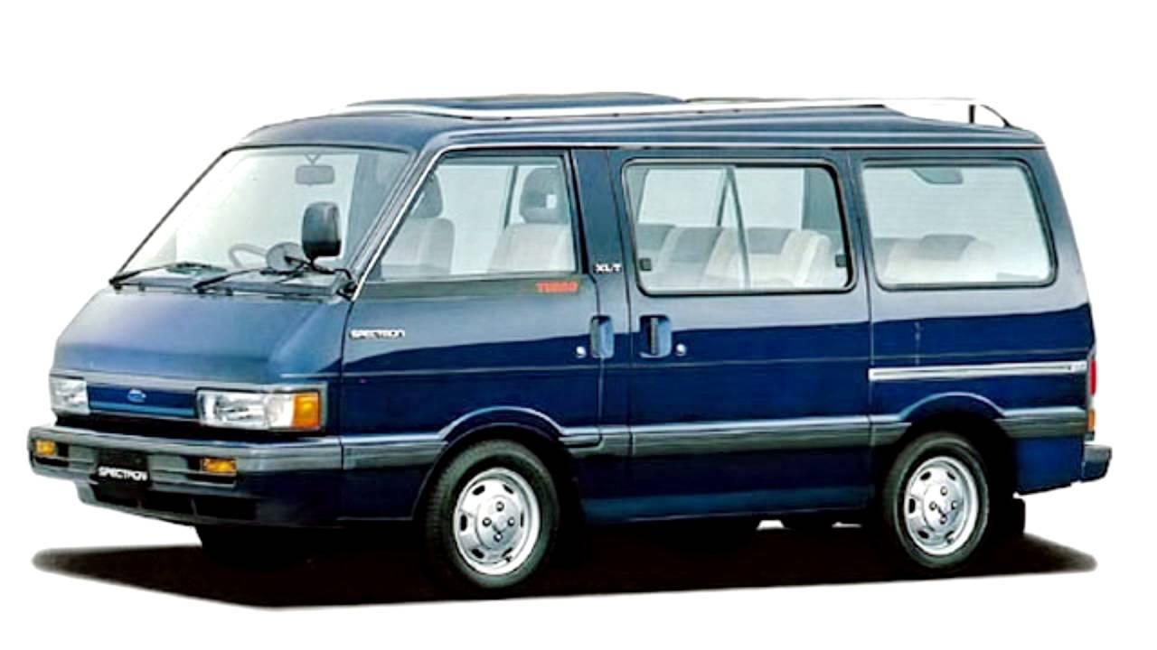 Ford Spectron 1983 - 1995 Minivan #3