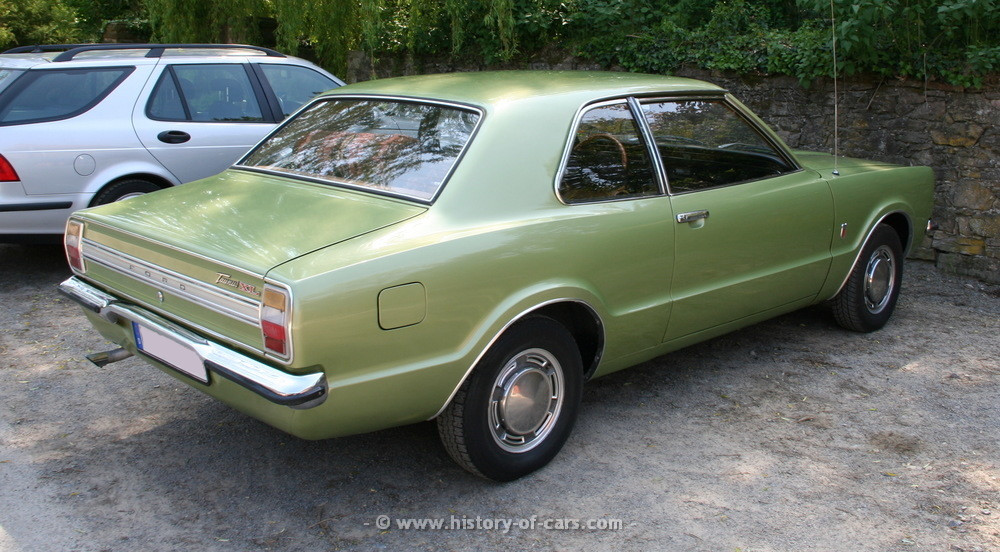 Ford Taunus I 1970 - 1976 Coupe #1