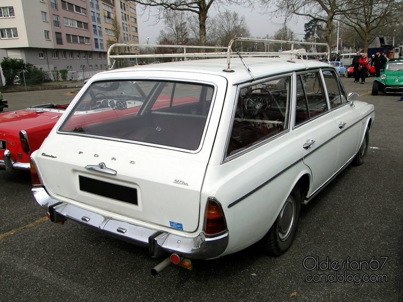 Ford Taunus P5 1964 - 1967 Station wagon 5 door #1