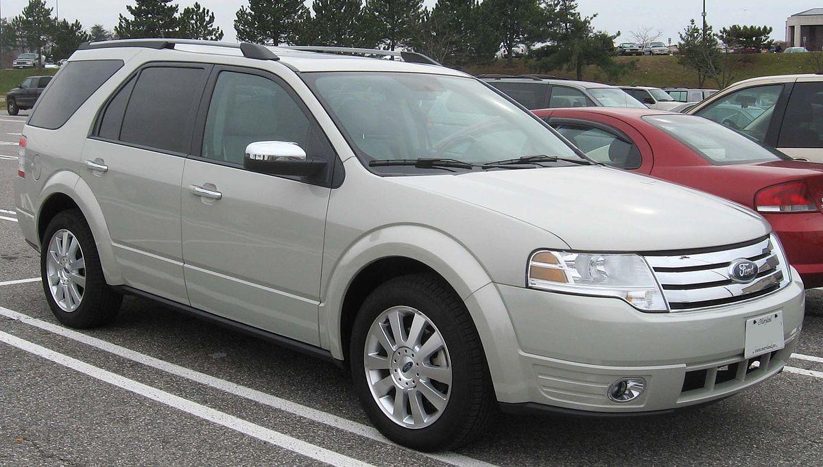 Ford Taurus X 2007 - 2009 SUV 5 door #8