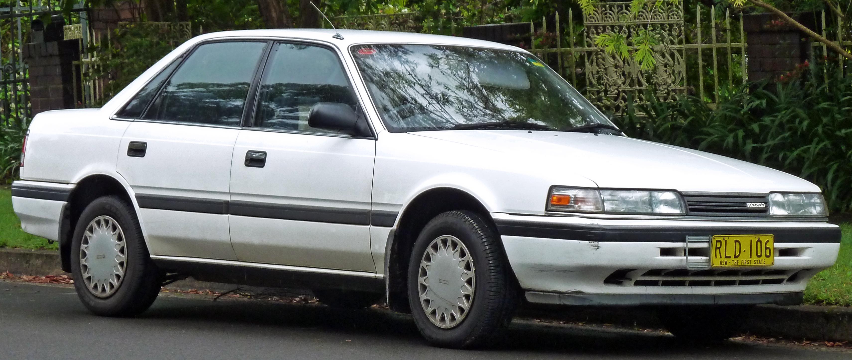 Mazda 626 III (GD) 1987 - 1992 Sedan :: OUTSTANDING CARS