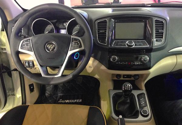 Foton Sauvana I 2015 - now SUV 5 door #8