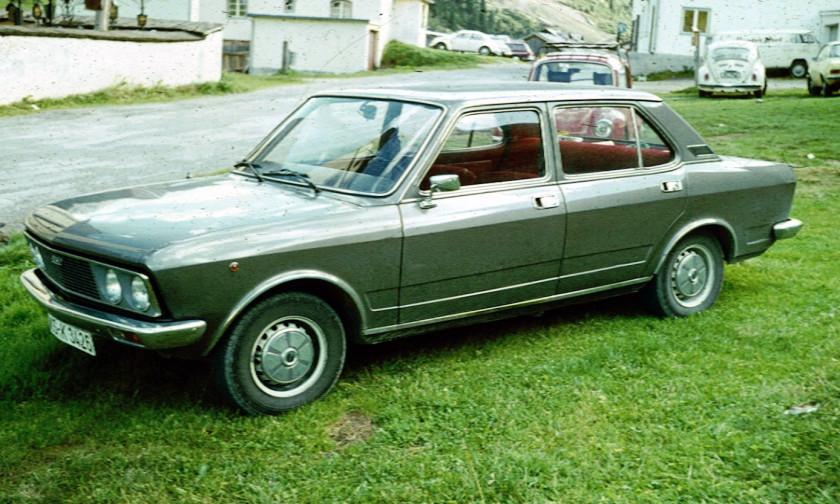 Fiat 132 1972 - 1982 Sedan #6