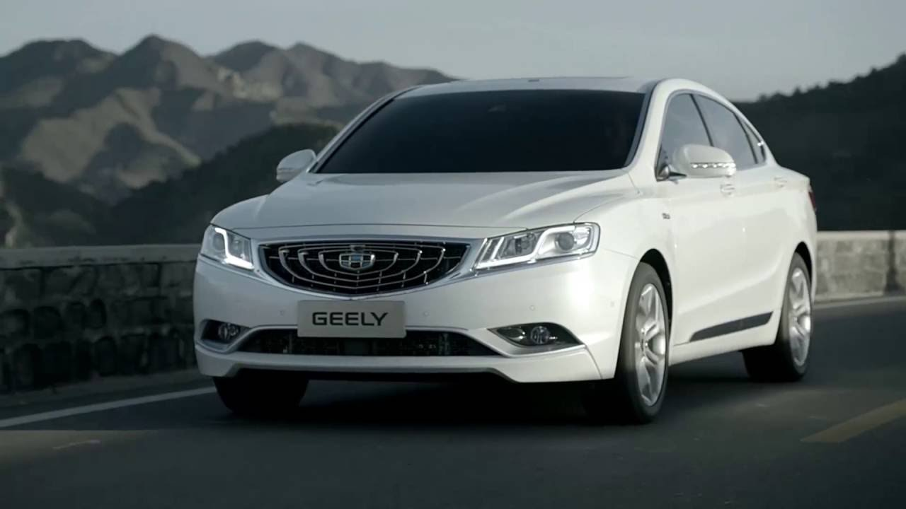 Geely Emgrand GT 2017 - now Sedan #6