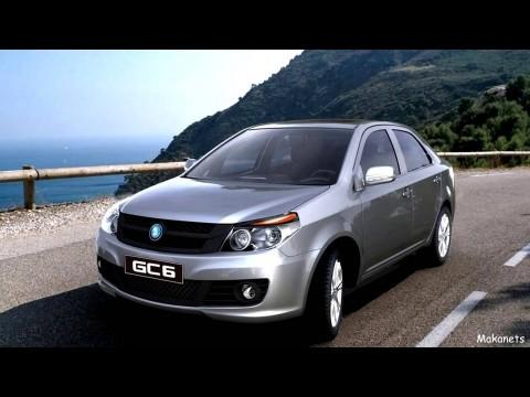 Geely GC6 2014 - 2016 Sedan #4