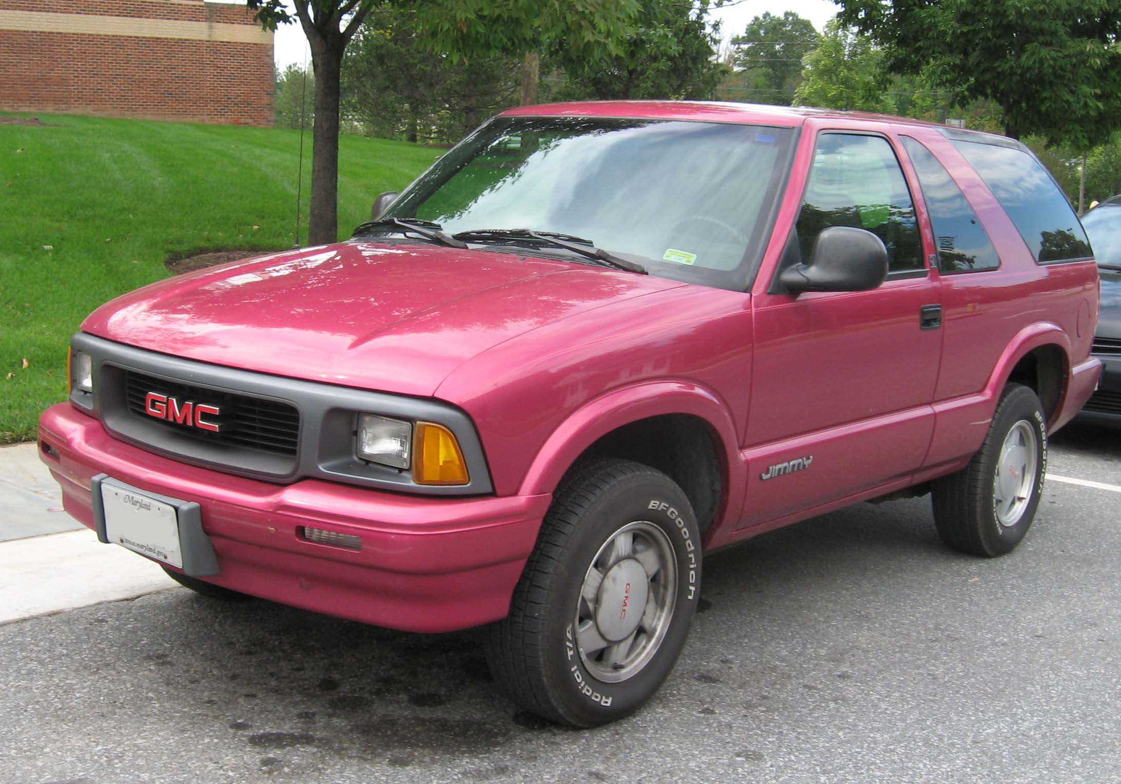 GMC Jimmy 1991 - 2005 SUV 5 door #6 & GMC Jimmy 1991 - 2005 SUV 5 door :: OUTSTANDING CARS