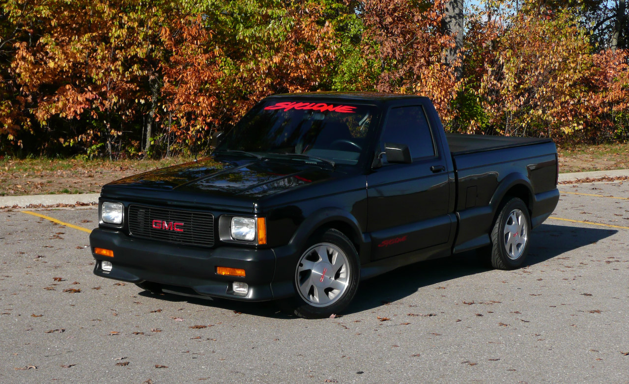 GMC Syclone 1991 1991 Pickup OUTSTANDING CARS