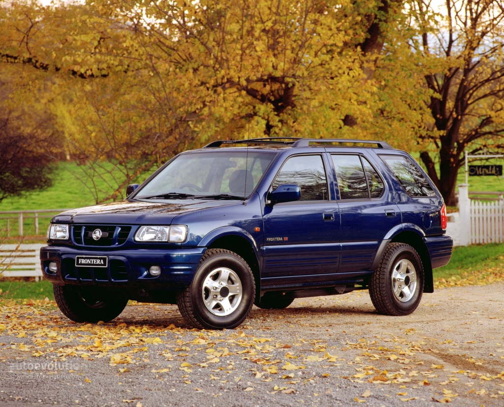Holden Frontera 1998 - 2003 SUV 5 door #7