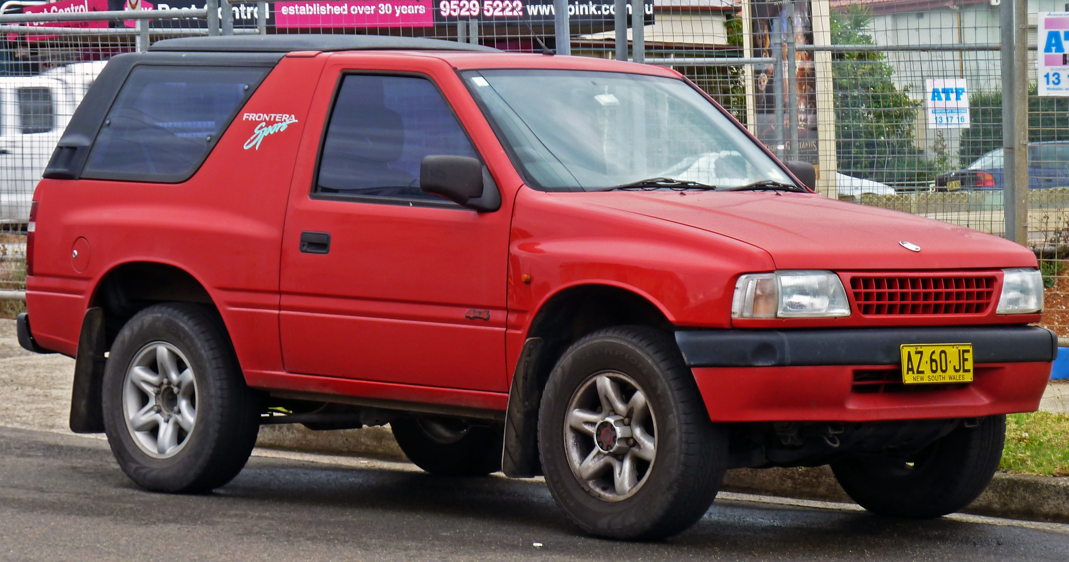 Holden Frontera 1998 - 2003 SUV 5 door #4