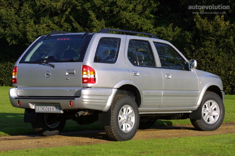 Holden Frontera 1998 - 2003 SUV 5 door #6