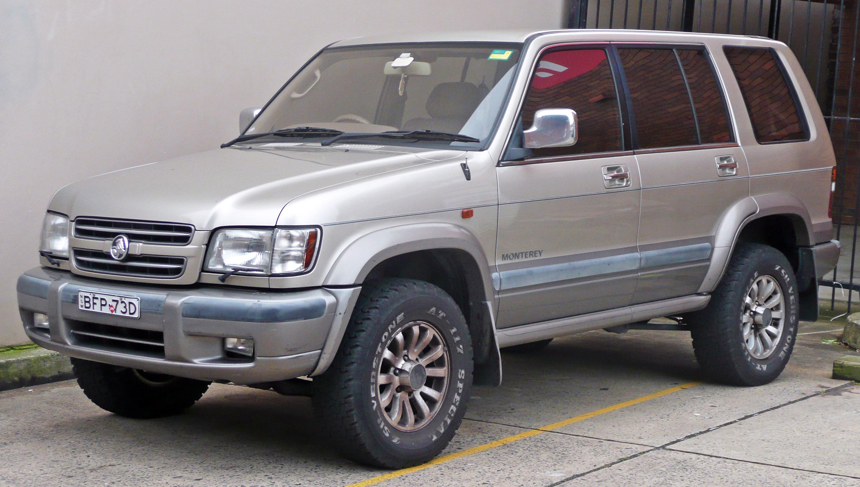 opel monterey a restyling 1998 1999 suv 3 door outstanding cars rh carsot com 1999 Acura 4 Door 1999 Acura Legend