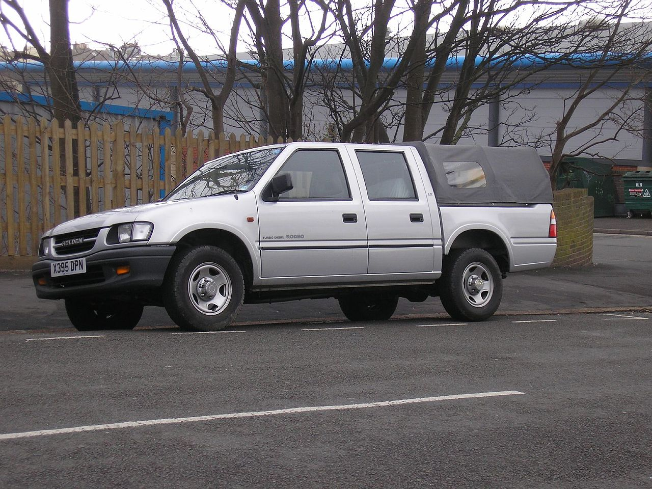 Holden Rodeo 1998 - 2003 Pickup #7