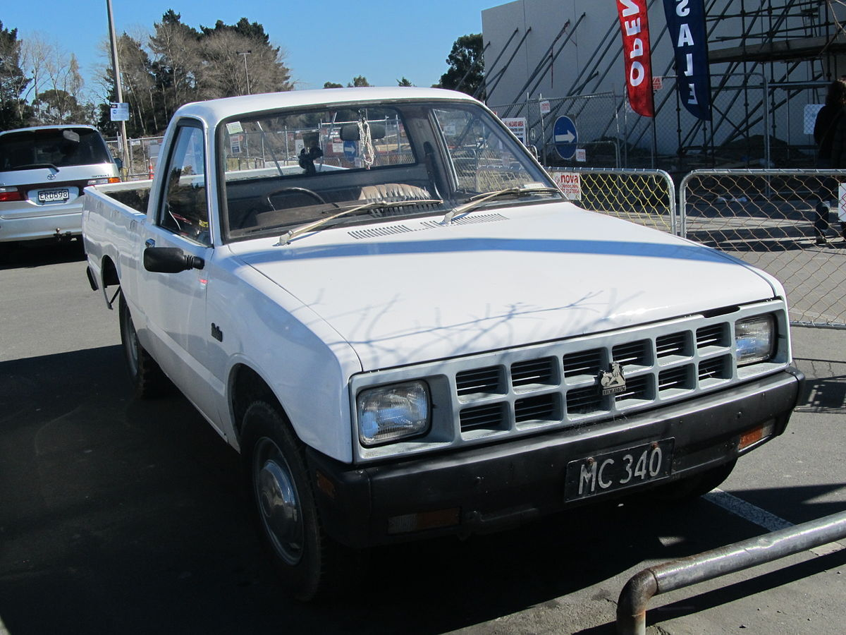 Holden Rodeo 1998 - 2003 Pickup #8
