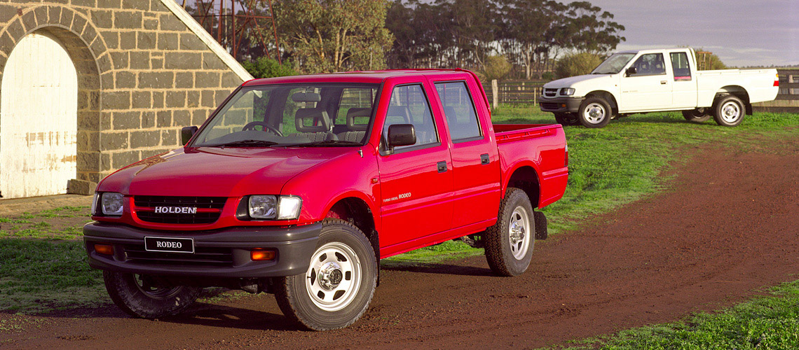 Holden Rodeo 1998 - 2003 Pickup #3