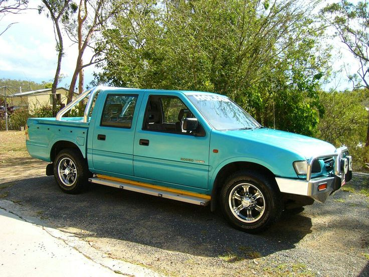 Holden Rodeo 1998 - 2003 Pickup #2
