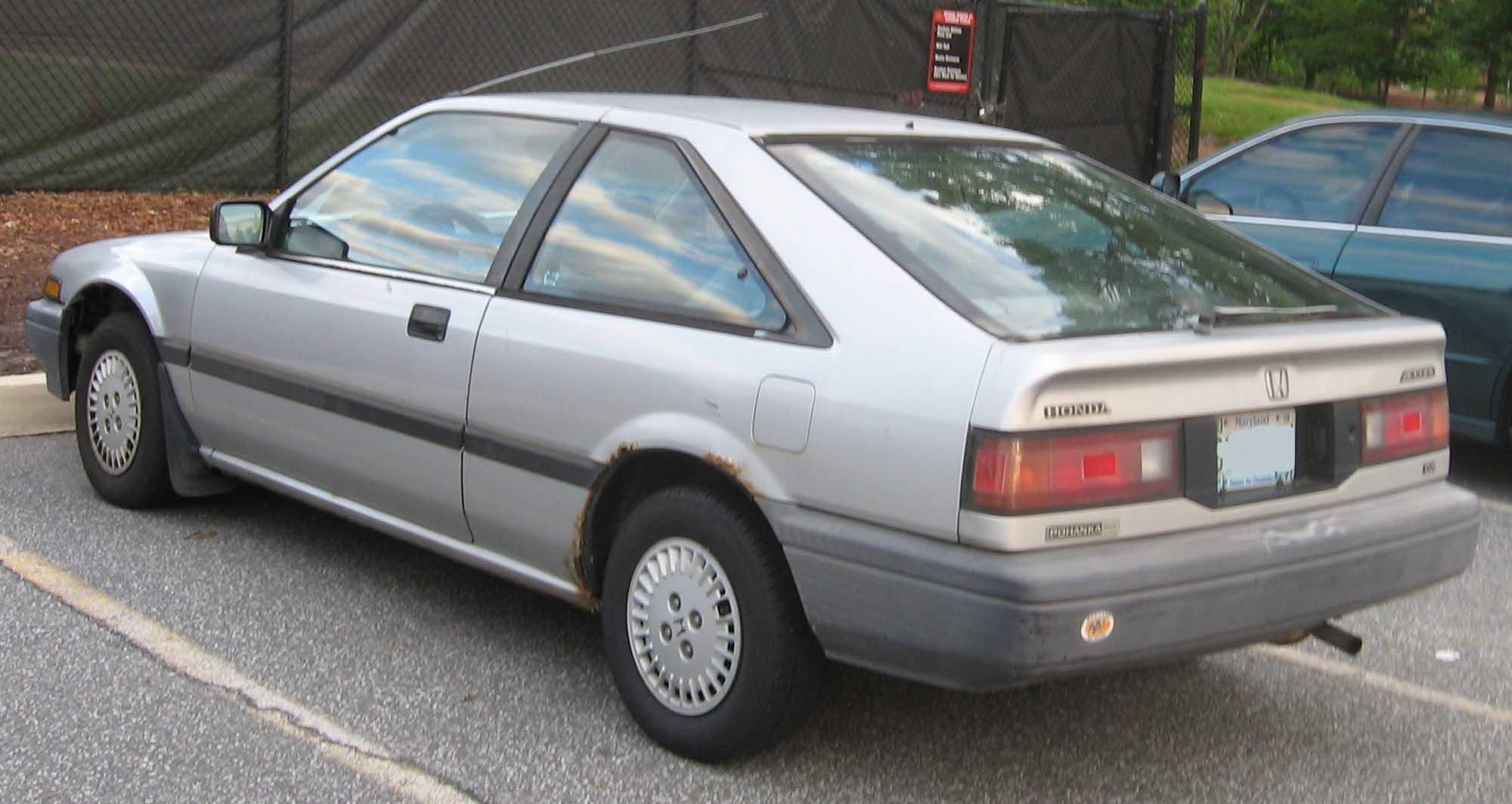 Honda Accord III 1985 - 1989 Sedan :: OUTSTANDING CARS
