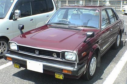 Honda Ballade I 1980 - 1983 Sedan #8