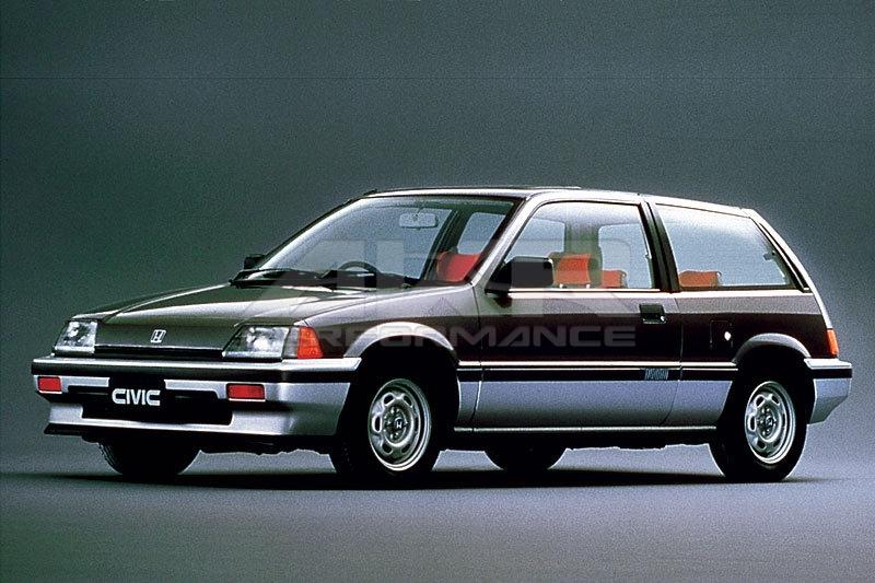 Honda Ballade II 1983 - 1987 Hatchback 3 door #4