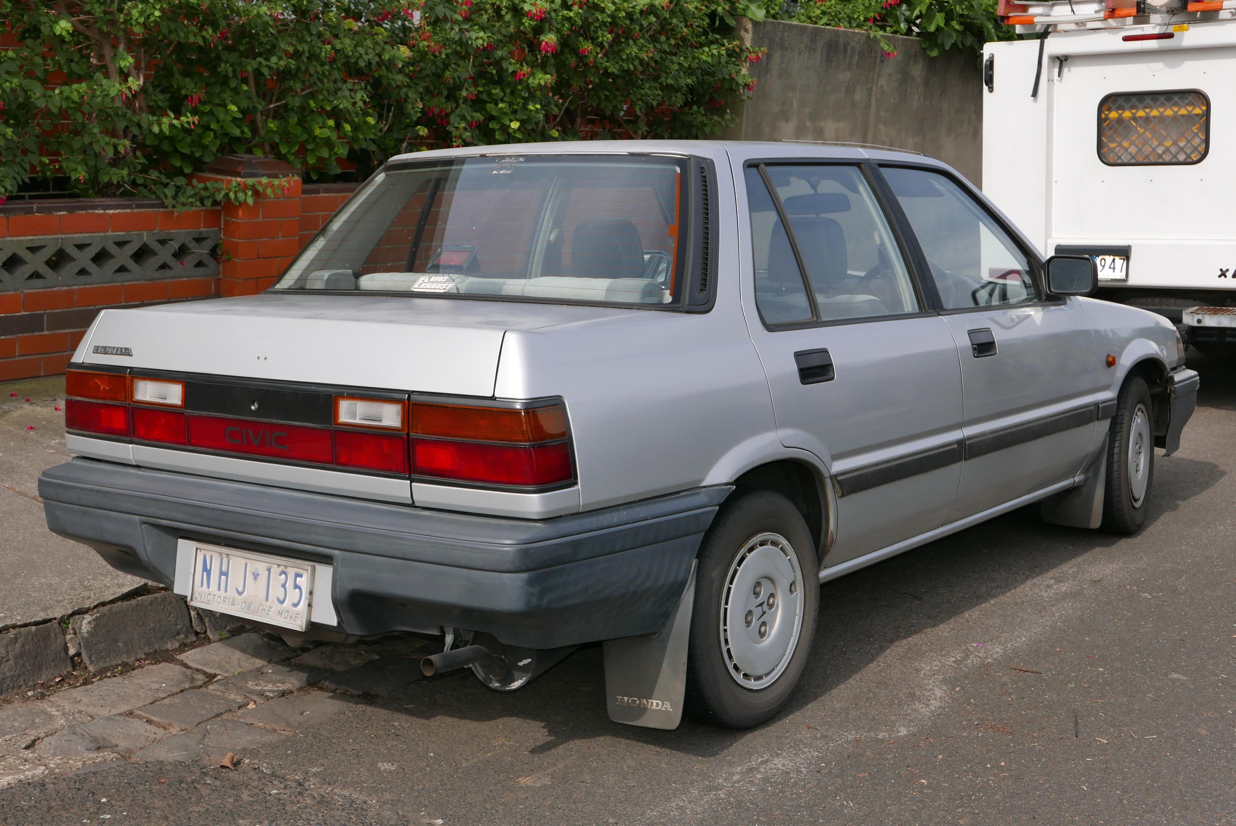 Honda Ballade II 1983 - 1987 Sedan #3