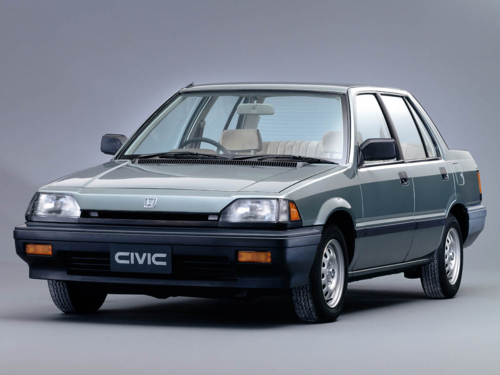 Honda Ballade II 1983 - 1987 Sedan #5