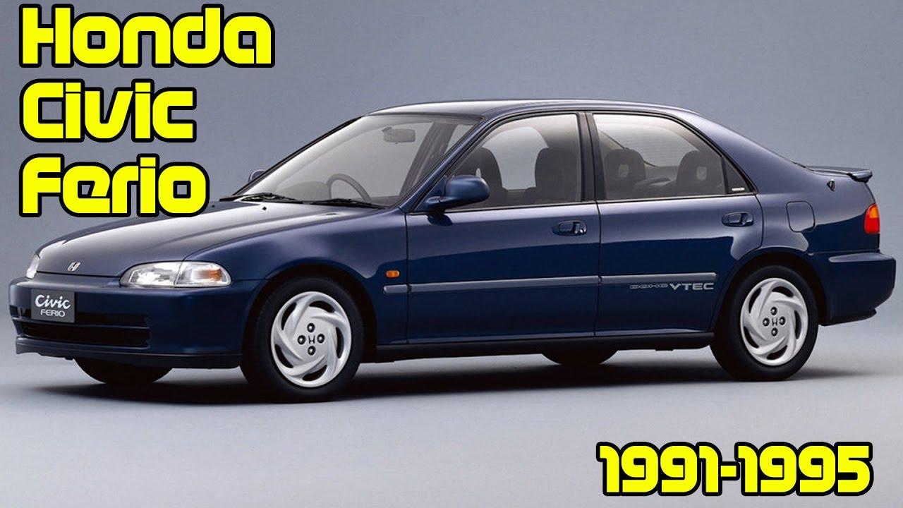 Honda Civic Ferio I 1991 - 1995 Sedan #7