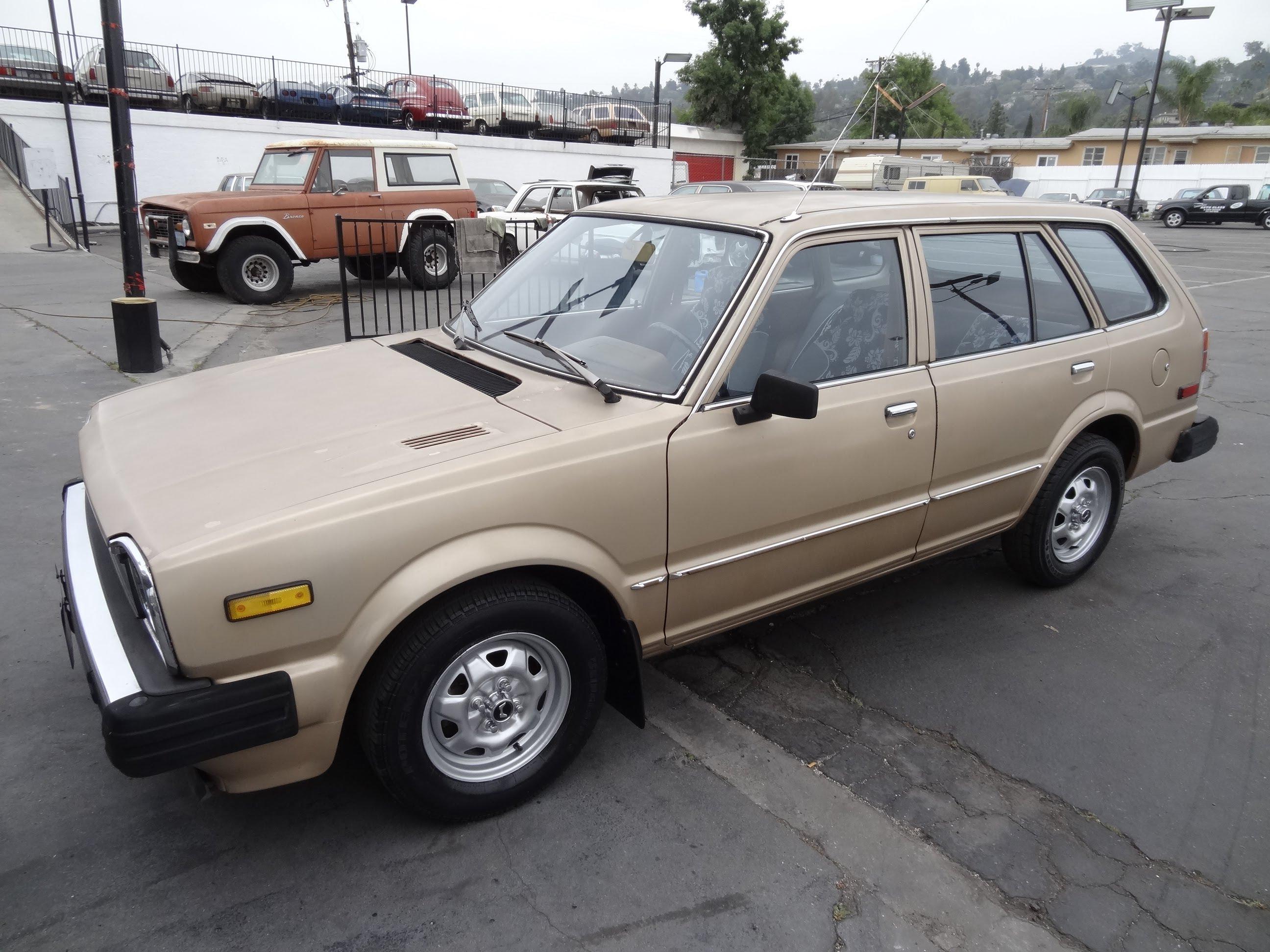 Honda Civic Ii 1979 1983 Station Wagon 5 Door Outstanding Cars 1970 Cvcc 4