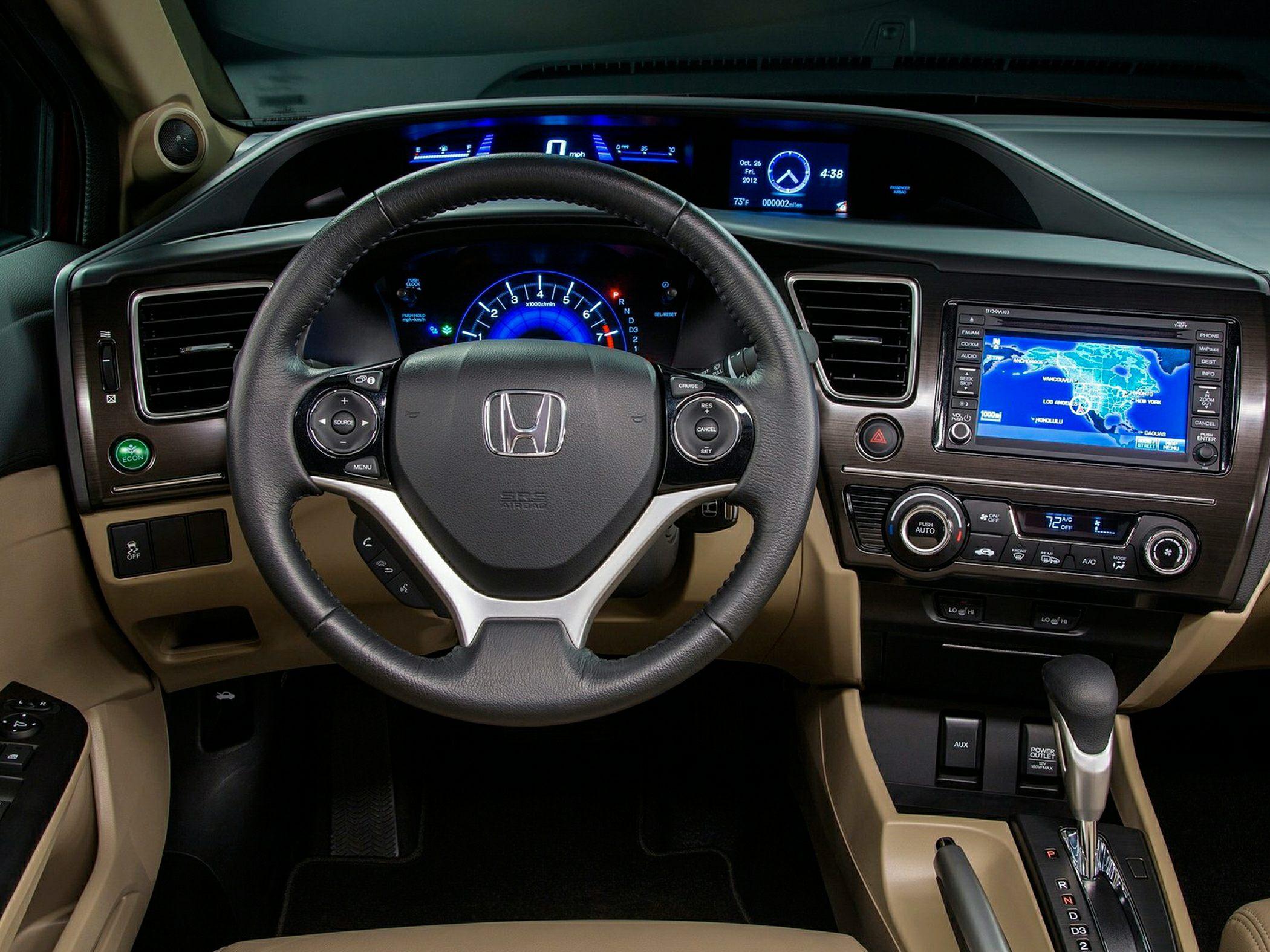Honda Civic 2011 Sedan Interior