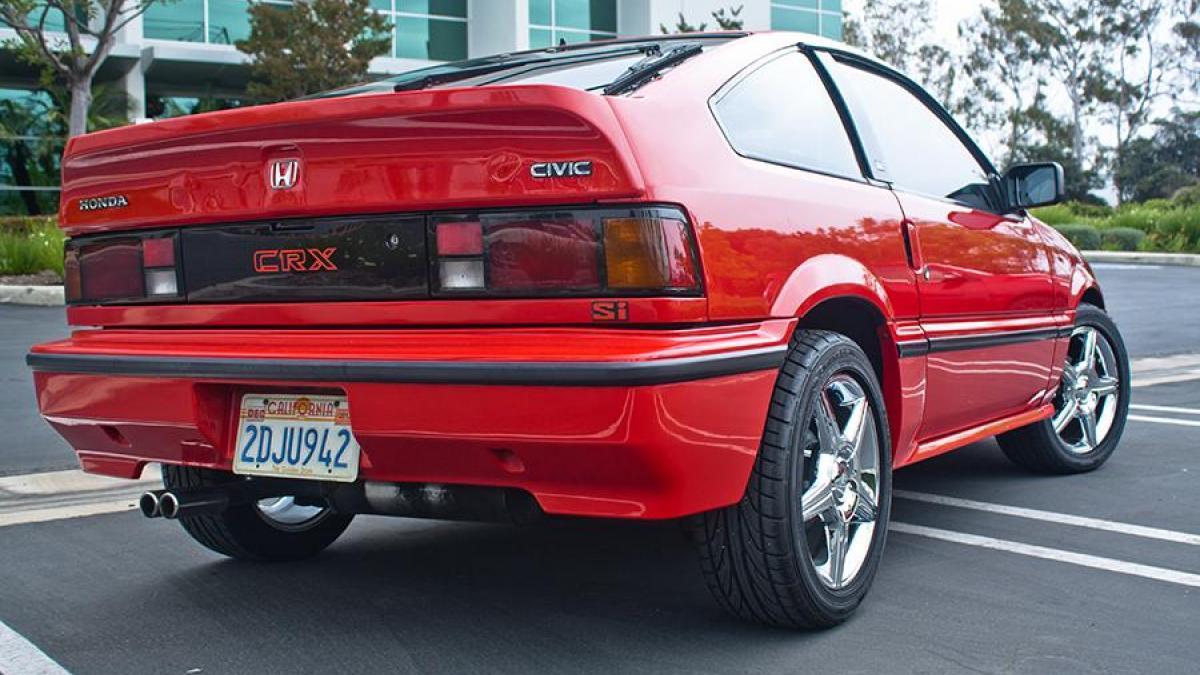 Honda CR-X I 1983 - 1987 Coupe #6