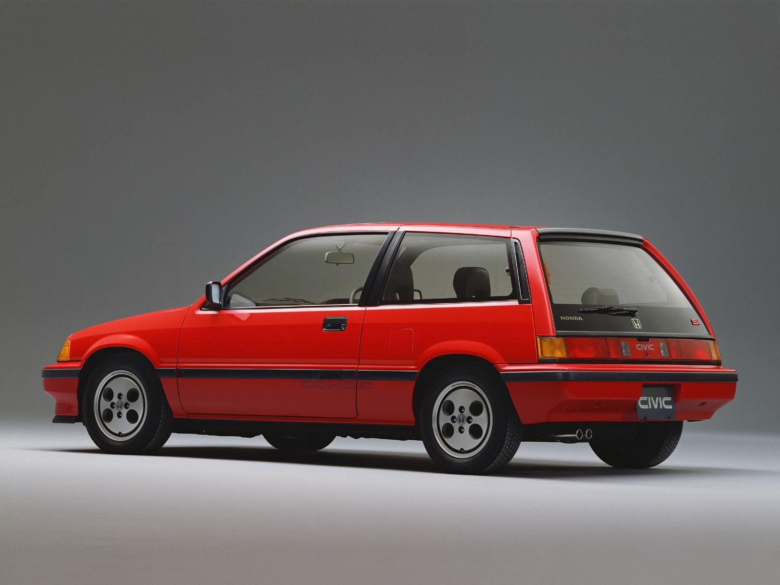 Honda CR-X I 1983 - 1987 Coupe #1