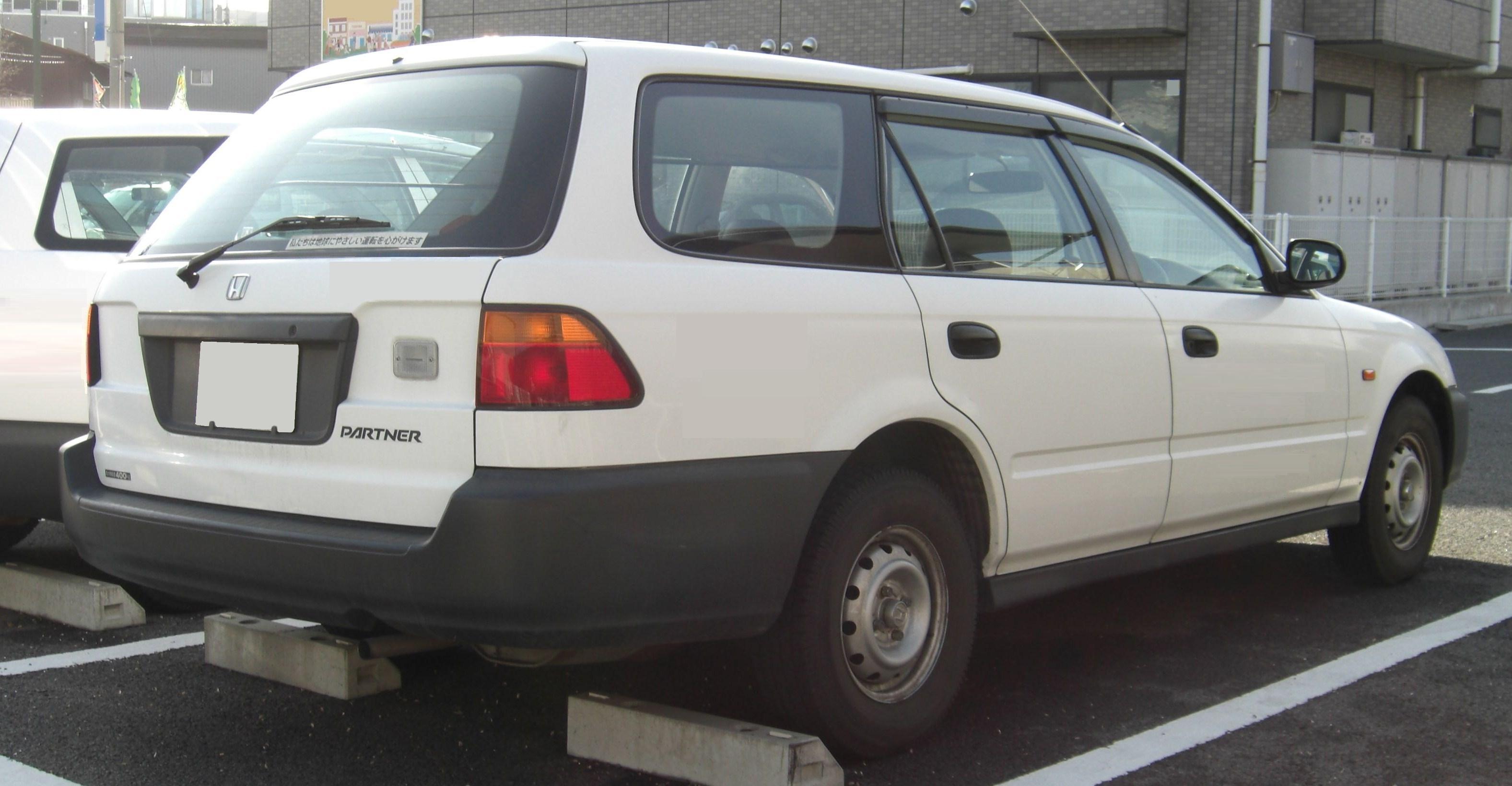Honda Partner I 1996 - 2006 Station wagon 5 door #7