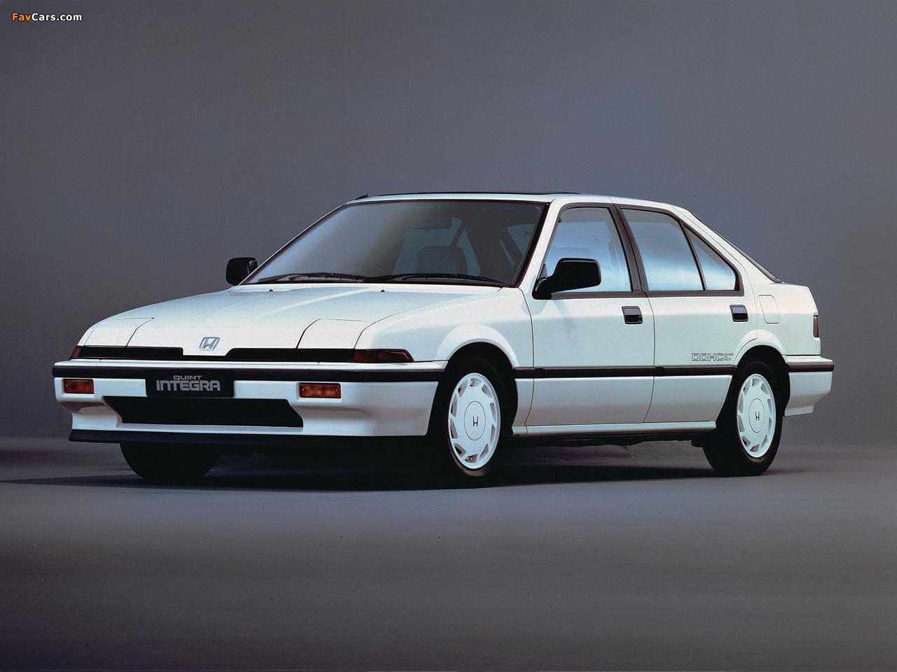 Honda Quint II 1985 - 1989 Sedan #6