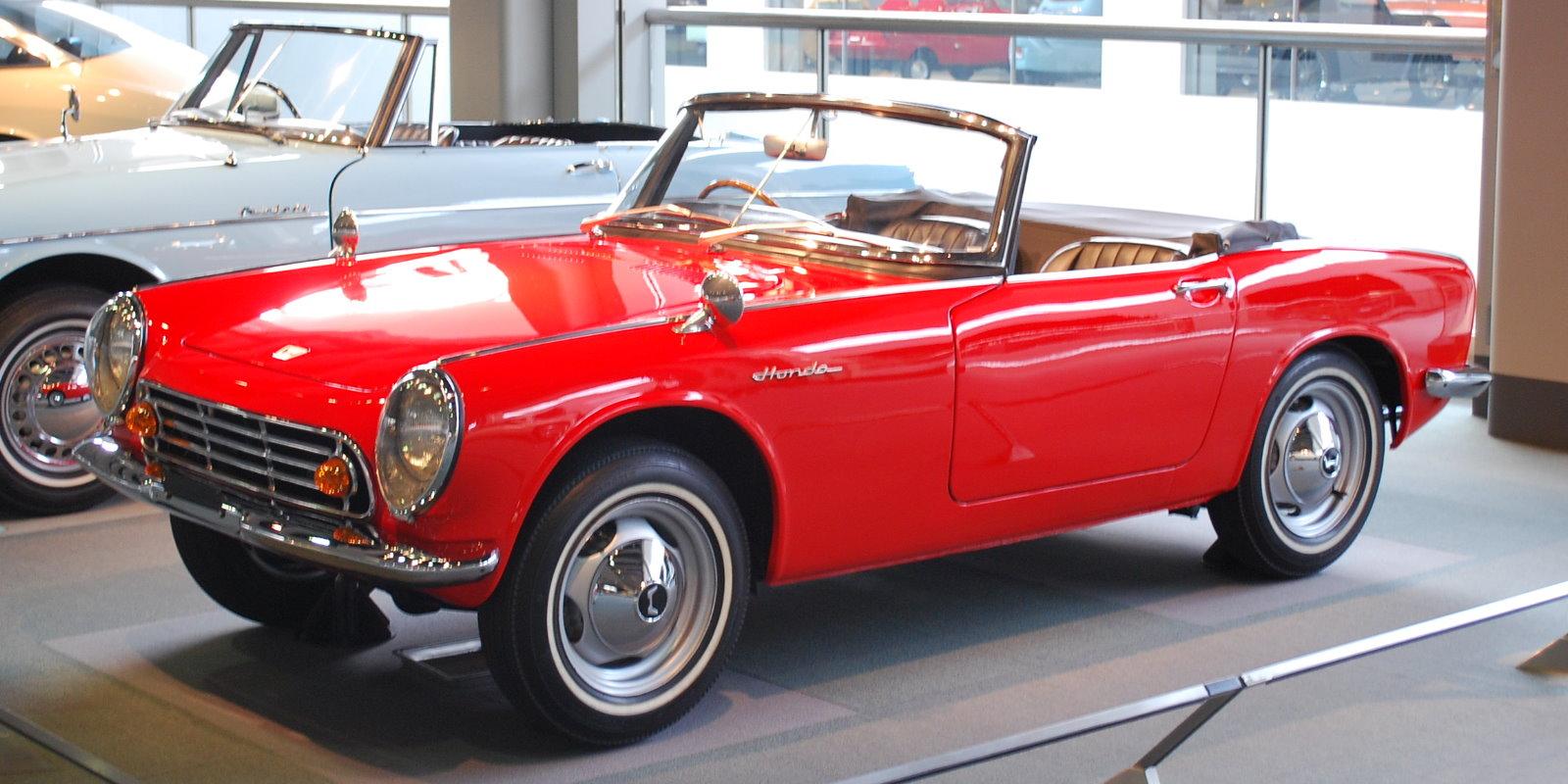 Honda S500 I 1963 - 1964 Cabriolet #2