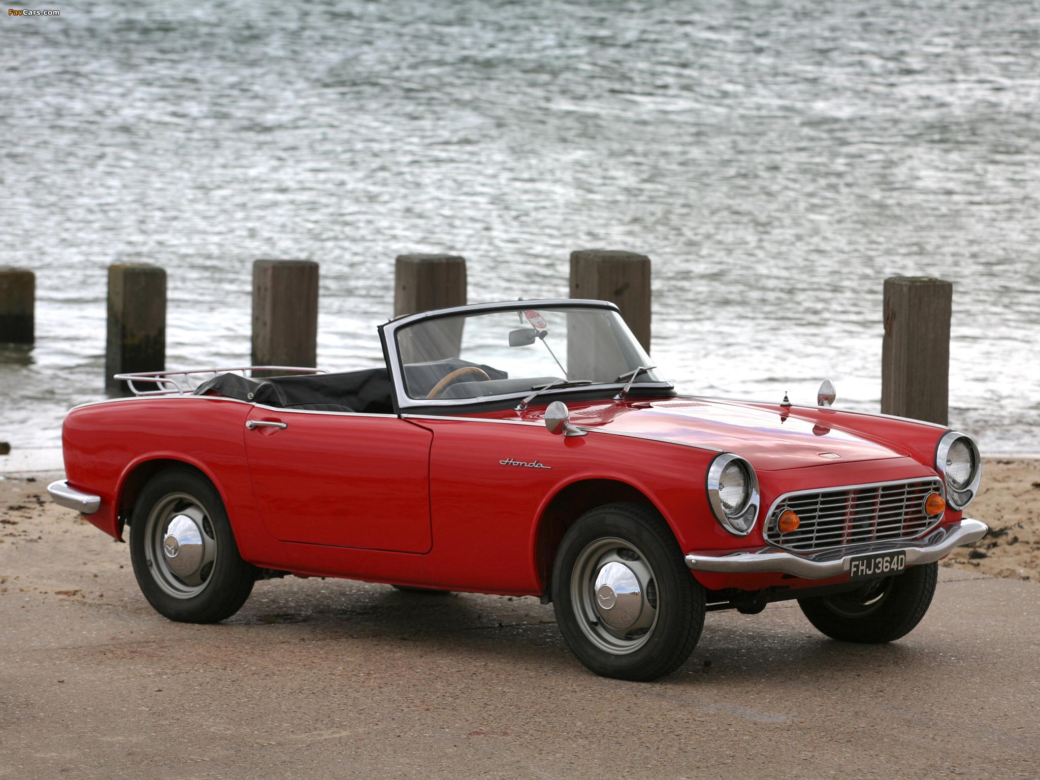 Honda S500 I 1963 - 1964 Cabriolet #1