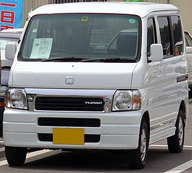 Honda Vamos 1999 - now Microvan #8