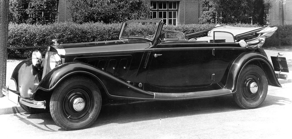 Horch 830 1933 - 1940 Cabriolet #1