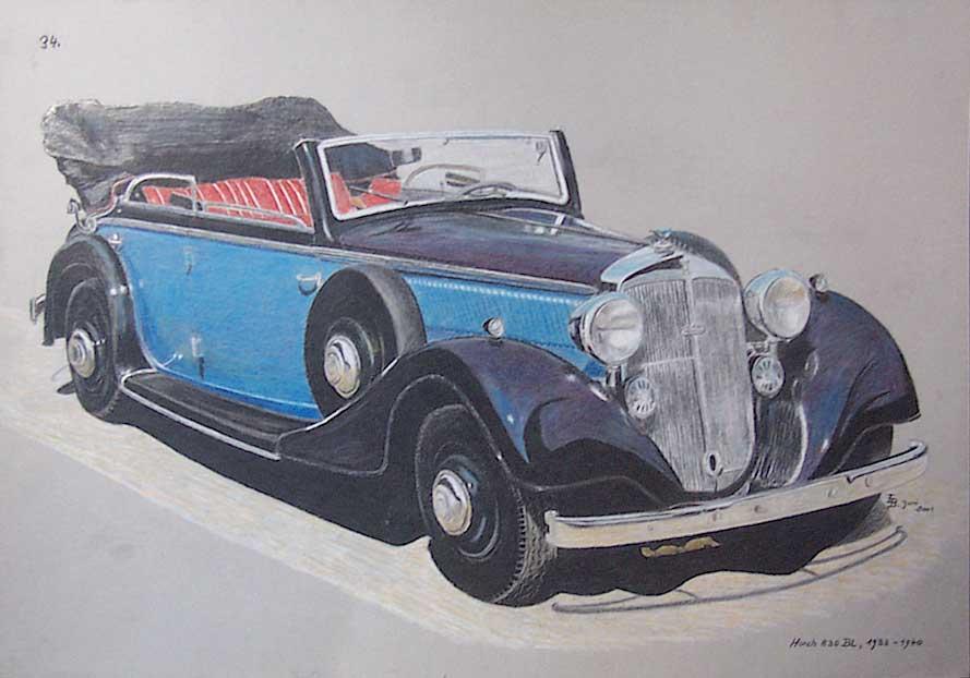 Horch 830 1933 - 1940 Sedan #1