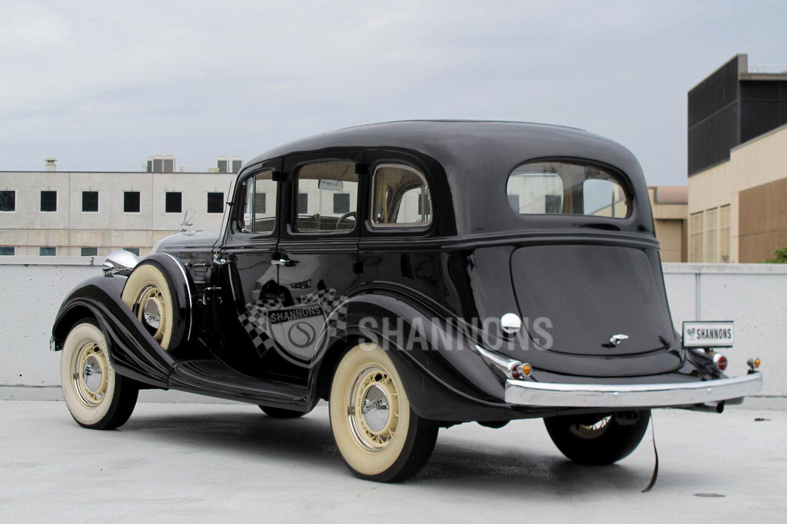 Hudson Deluxe Eight 1934 - 1937 Sedan #3