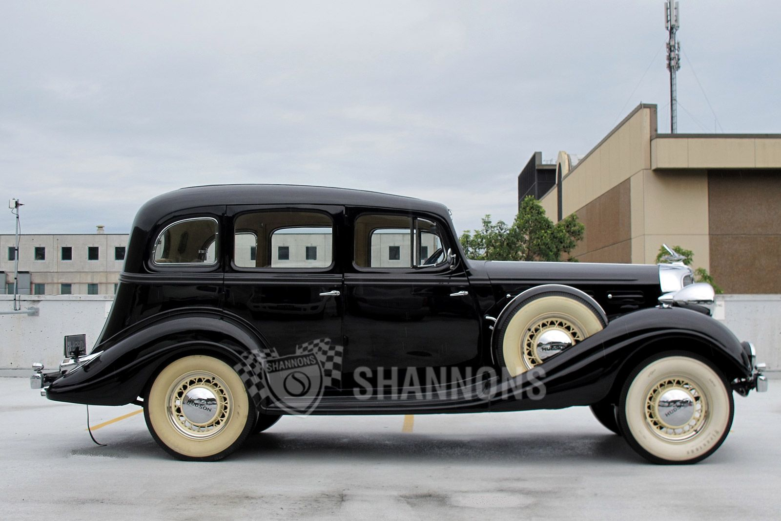 Hudson Deluxe Eight 1934 - 1937 Sedan #2