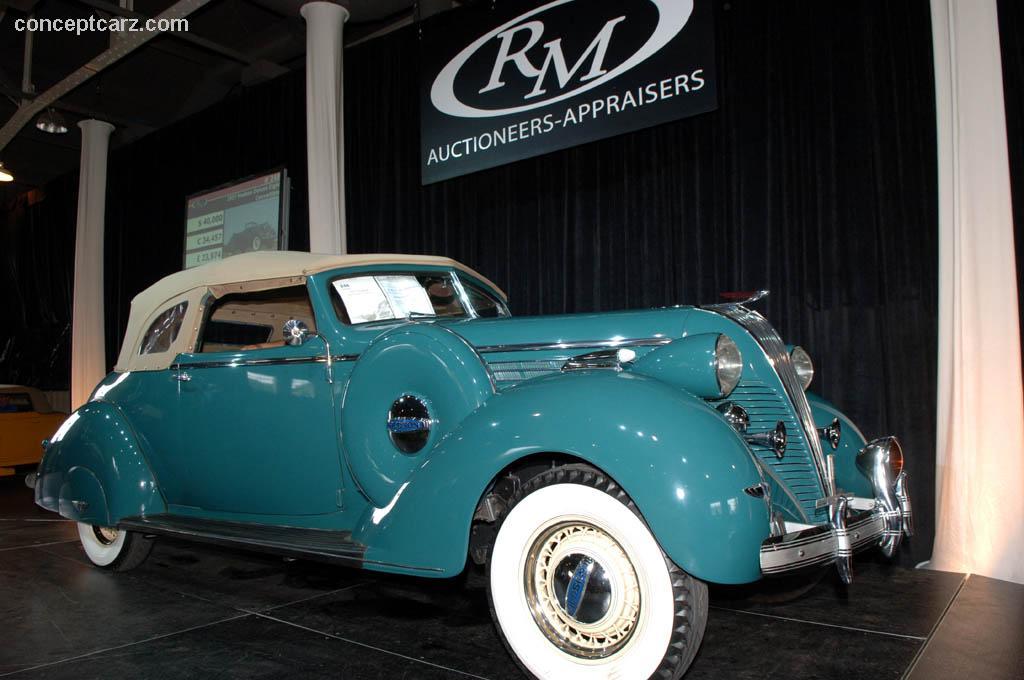 Hudson Deluxe Eight 1934 - 1937 Sedan #7